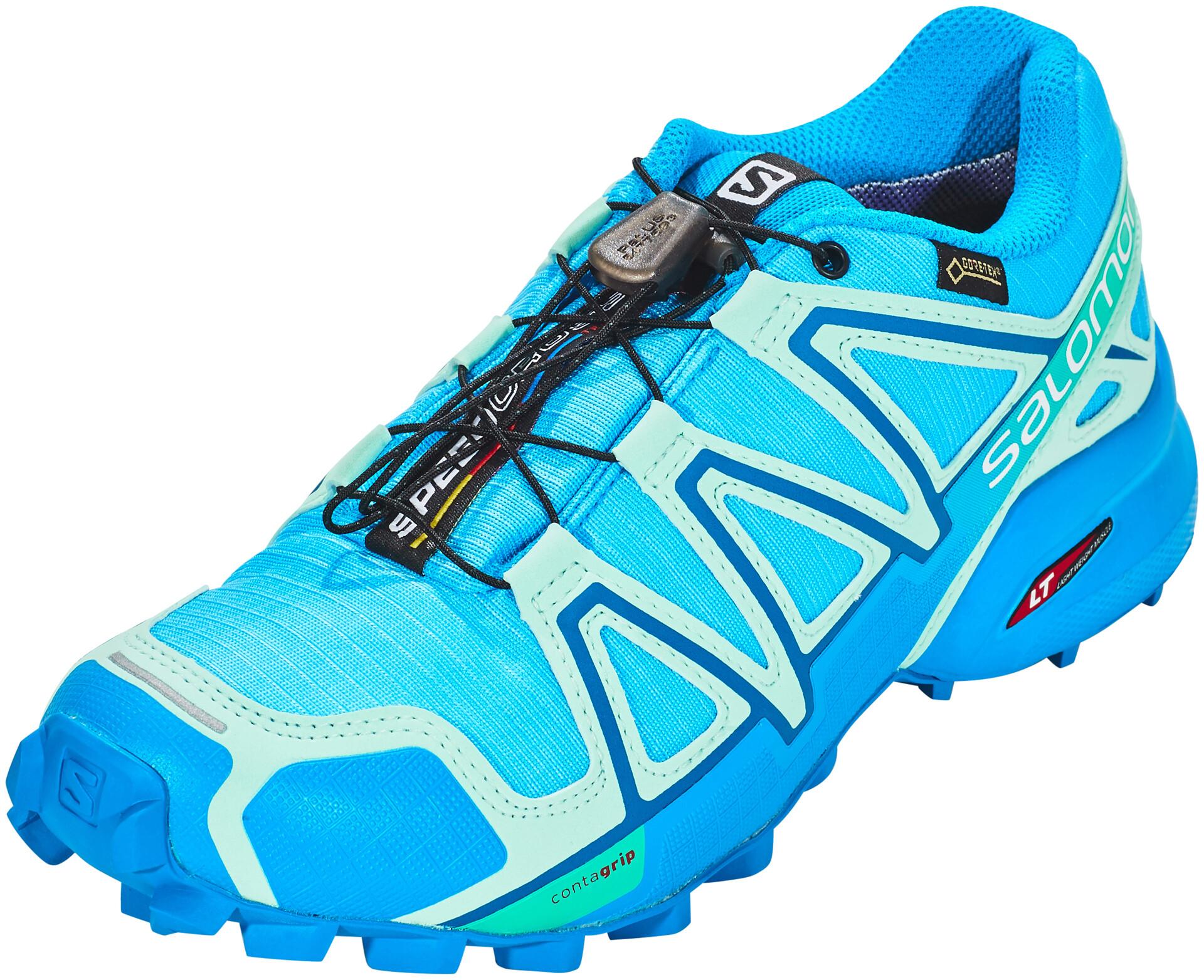 Turquoise Salomon Speedcross Femme Gtx Running 4 Chaussures xaxYA